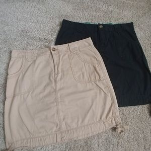 Two casual skirts